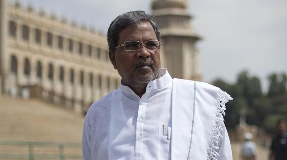 Not in a position to release Cauvery water to TN: CM Siddaramaiah