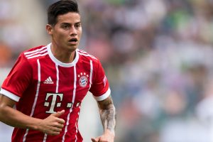 'James Rodriguez can't take Bayern Munich starting spot for granted'