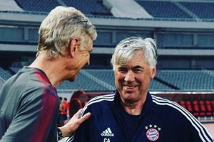 Was a pleasure meeting my old friend Arsene Wenger: Carlo Ancelotti