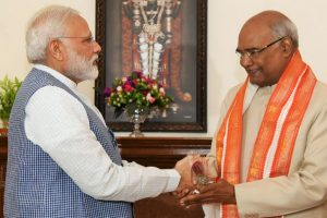 PM Modi congratulates Kovind on being sworn in as President