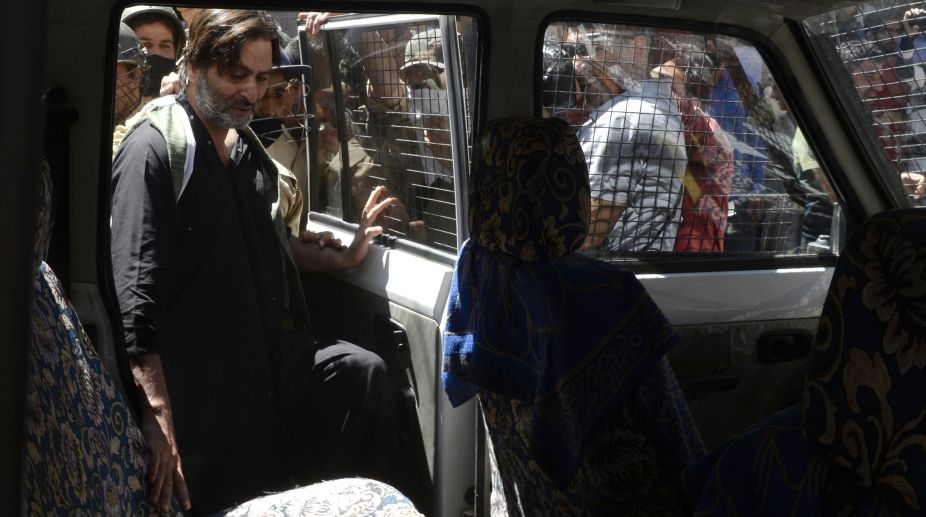 Yasin Malik, separatists, Kashmir protest, Kashmir strike, JKLF chairman