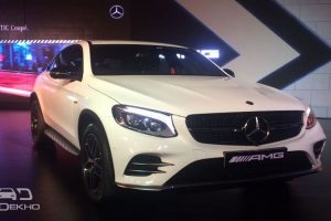 Mercedes-AMG GLC 43 4MATIC Coupe launched at Rs.74.8L