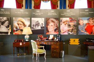 Buckingham Palace exhibit marks 20 years since Diana's death