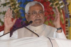 Bihar CM Nitish Kumar greets people on Eid-Ul-Fitr
