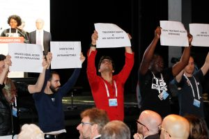 Global HIV meeting urges US to 'stay engaged' on AIDS funding