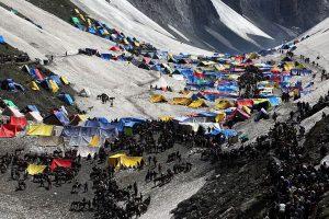 Over 673 pilgrims leave Jammu for Amarnath Yatra