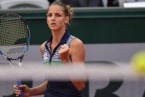 Czech Karolina Pliskova stays on top of WTA singles rankings