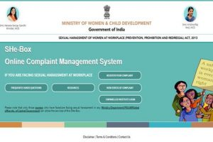 Online portal launched to register sexual harassment complaints