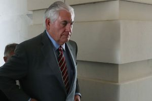 'Rex Tillerson staying on as top US diplomat'