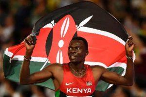 Kenya's Nicholas Bett to miss Athletics Worlds
