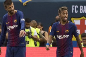 'Intuition' tells Geard Pique Neymar will stay with Barca