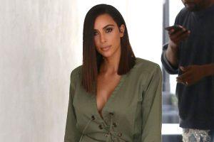 Kim Kardashian scared about stretch mark removal