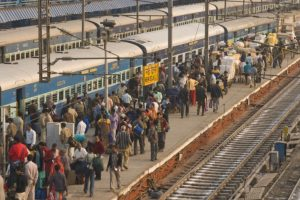'6 lakh people descended on New Delhi rly station daily this festive season'