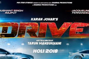 'Drive' to release on Holi 2018