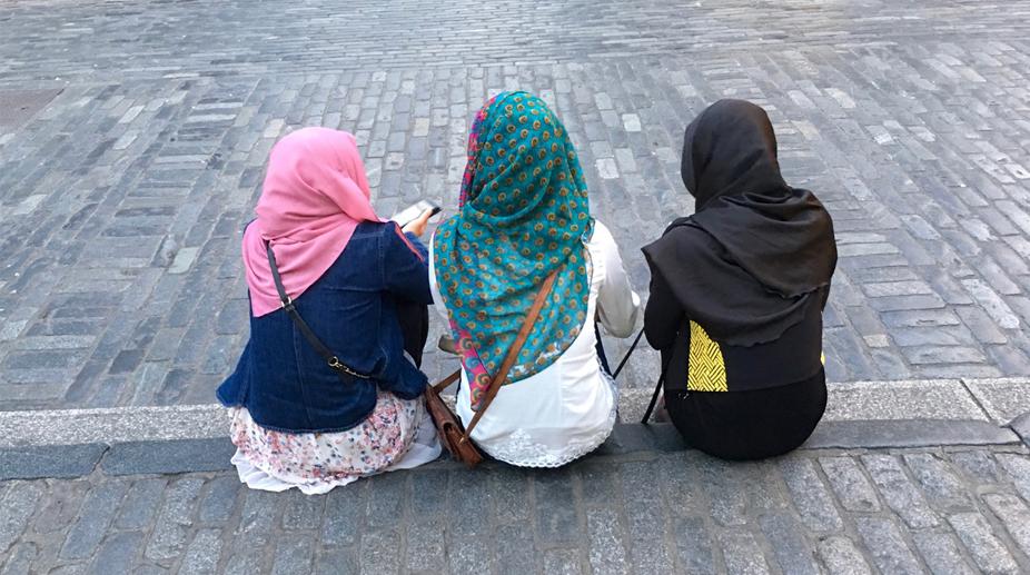 Indian student, racially abused, hijab-clad woman, UK racial abuse, Rickesh Advani