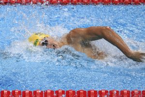 Cameron McEvoy ready for 'dogfight' in men's 100m freestyle