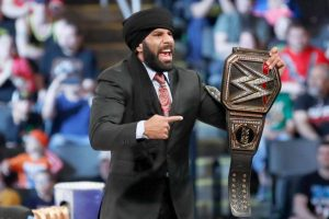 Narendra Kumar designs robe fit for WWE superstar Jinder Mahal