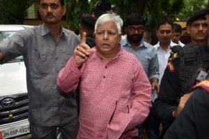 Centre withdraws Lalu's 'Z+' NSG security cover