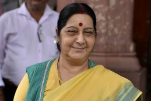 Sushma Swaraj to visit Bangladesh in September