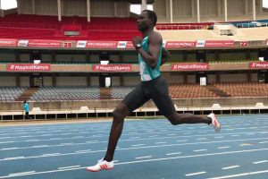 800-metre champ Rudisha exudes confidence, ready for London