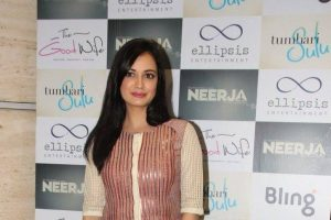 Dia Mirza turns Radha for Anju Modi's show at ICW