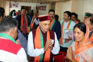 BJP leader Dhumal hails slashing of GST rates