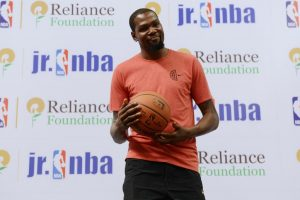 Kevin Durant's advice to Indian cagers: be patient to make it big