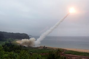 Pakistan fires anti-ship missile into Arabian Sea