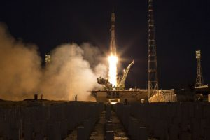 Soyuz rocket carrying 3 astronauts arrives at ISS