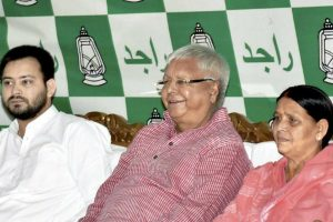 Lalu's sons, daughter question TV channels on crime in Bihar