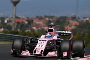 Double points finish for Force India at Hungarian GP