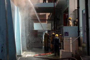 Fire breaks out in New Delhi's Kamla Market