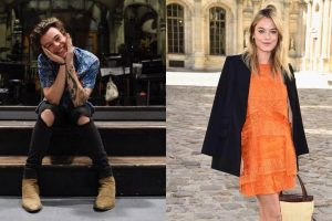 Harry Styles dating model Camille Rowe?