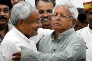 Nitish Kumar is Paltu Ram of politics: Lalu Prasad