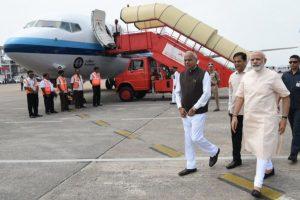 PM visits Assam, announces Rs.2,000 cr to combat floods in NE