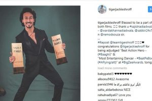 Twin win for Tiger Shroff