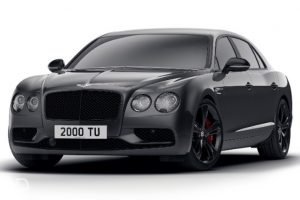 Bentley Flying Spur V8 S black edition unveiled