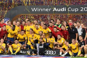Atletico Madrid lift Audi Cup after edging Liverpool on penalties