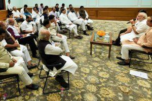 PM Modi to address NDA MPs on Friday
