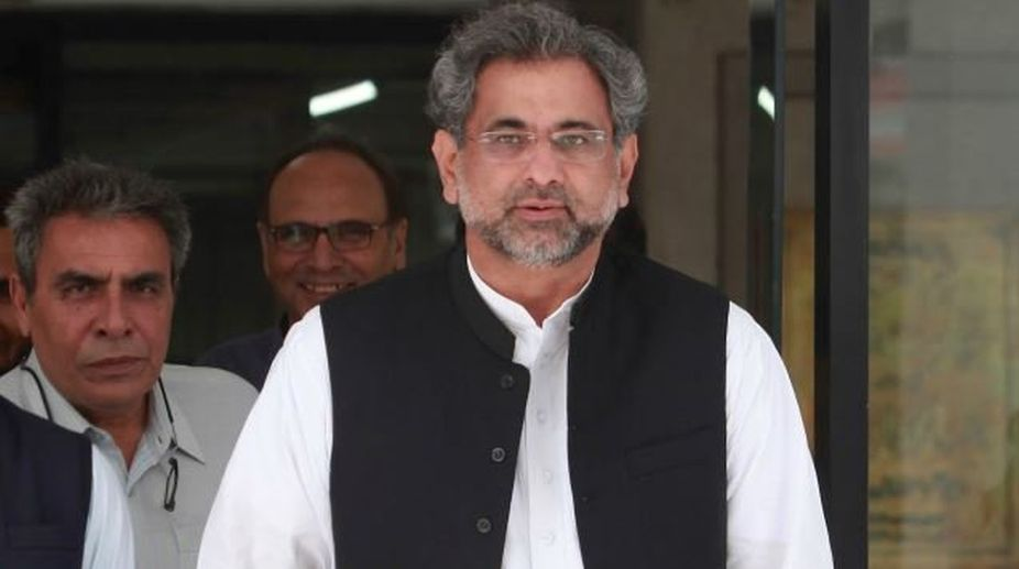 Pak PM Abbasi face physical security check at U.S. airport