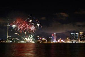 Splendid starburst in Macao