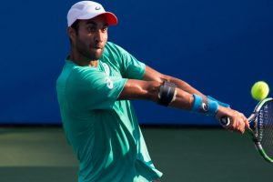 Bhambri's stellar campaign ends with defeat against Anderson