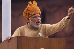 Modi 'impressed' with suggestions for Independence Day speech