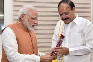 Naidu will serve nation as a diligent, dedicated VP: Modi