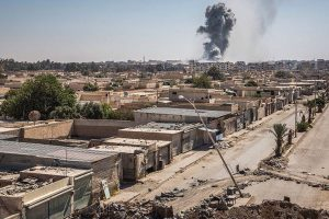 US-led airstrikes kill 14 in Syria