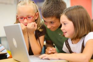 Children consuming online time like junk food