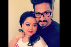 Proud that Harsh is writing a film: Bharti Singh