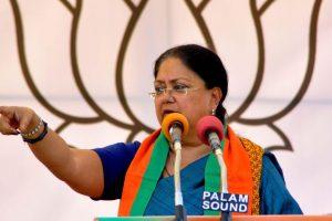 Vasundhara Raje invites Sushmita Sen to help make Rajasthan clean