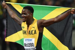 Omar McLeod wins world title, Aries Merritt's dream dashed