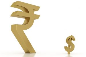 Rupee goes up 5 paise against dollar to 65.06